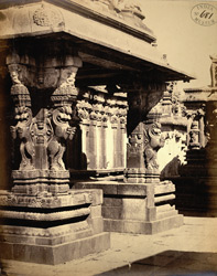Entrance porch to mandapa, (?)Ramalingeshvara Temple, Tadpatri.